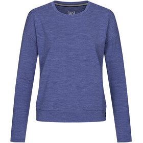 super.natural Jonser Sweater Dames, coastal fjord melange
